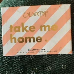 Colourpop take me home. Originally $12.